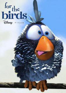 affiche poster birds drôle oiseaux ligne haute tension pixar disney