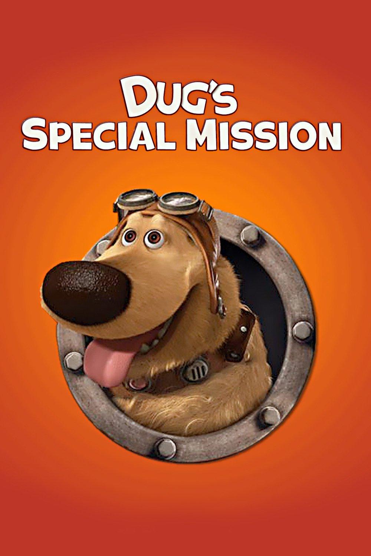 Pixar disney affiche poster dug mission speciale