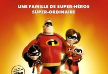 affiche les indestructibles incredibles poster pixar disney