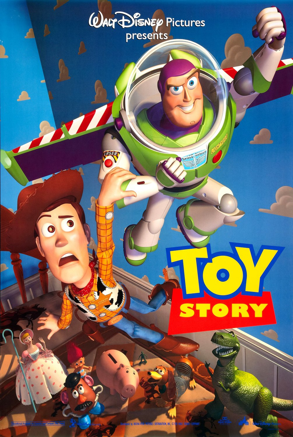 affiche poster toy story disney pixar