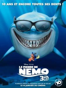 affiche le monde de nemo 3d finding poster pixar disney