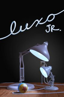 affiche poster luxo jr disney pixar