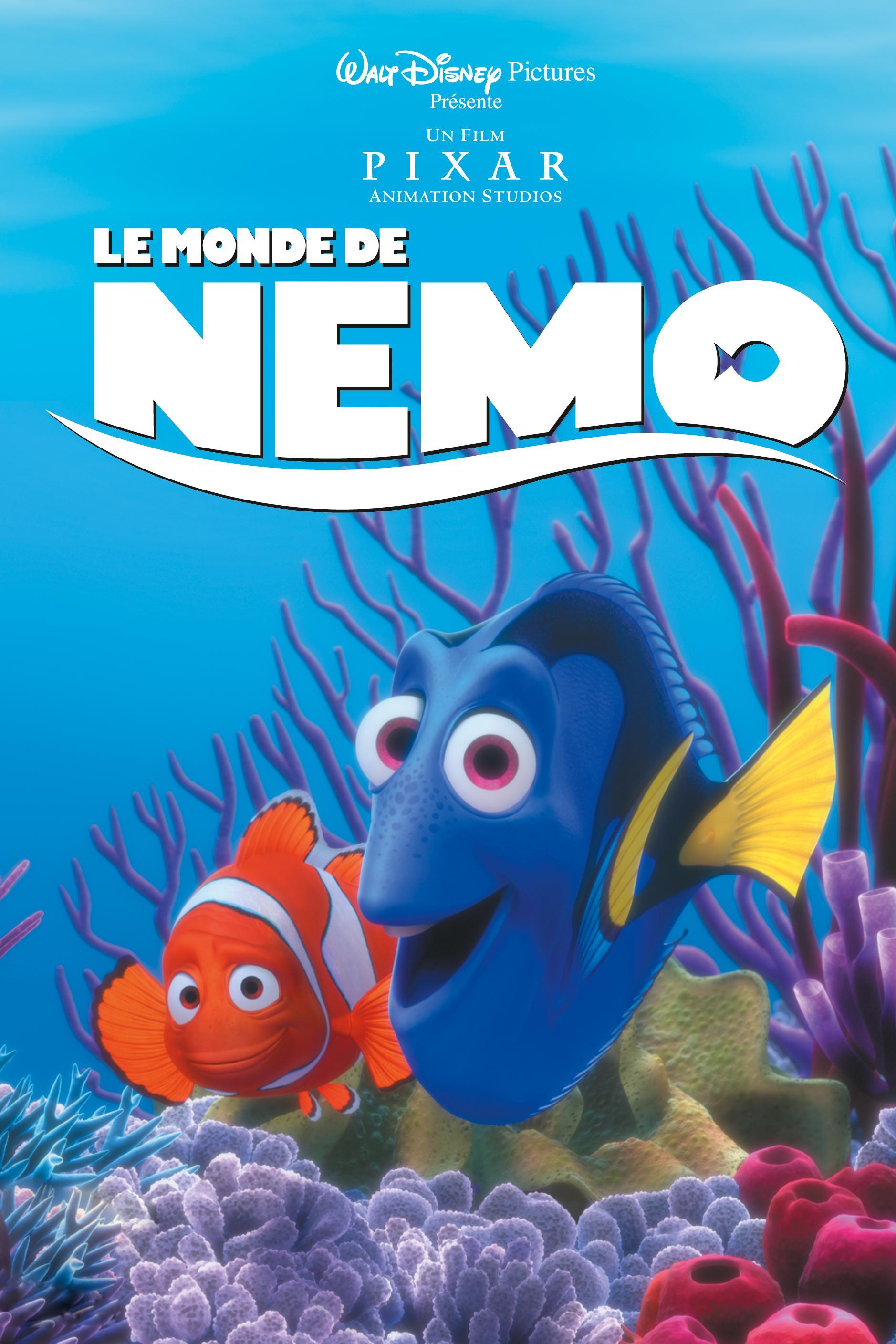 affiche le monde de nemo finding poster pixar disney