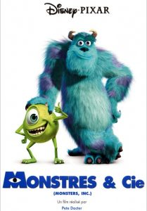 affiche monstres cie pixar disney poster monsters inc
