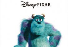 affiche monstres cie pixar disney poster monsters inc