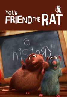 affiche poster ami rat friend disney pixar