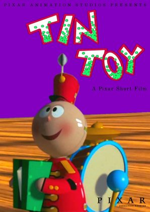 pixar disney tin toy affiche poster