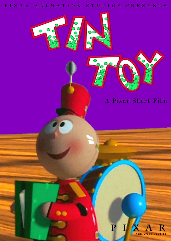 affiche poster tin toy disney pixar
