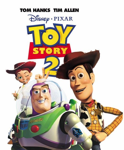 affiche poster toy story 2 disney pixar