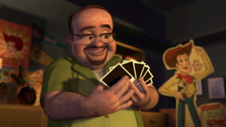 al mcwhiggin pixar disney personnage character toy story 2