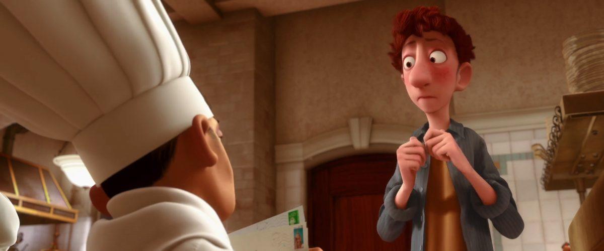 alfredo linguini personnage character ratatouille disney pixar
