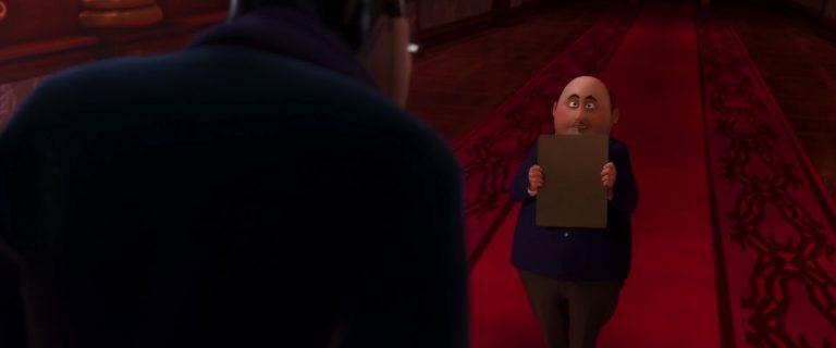 """Ambrister Minion, personnage dans """"Ratatouille""""."""