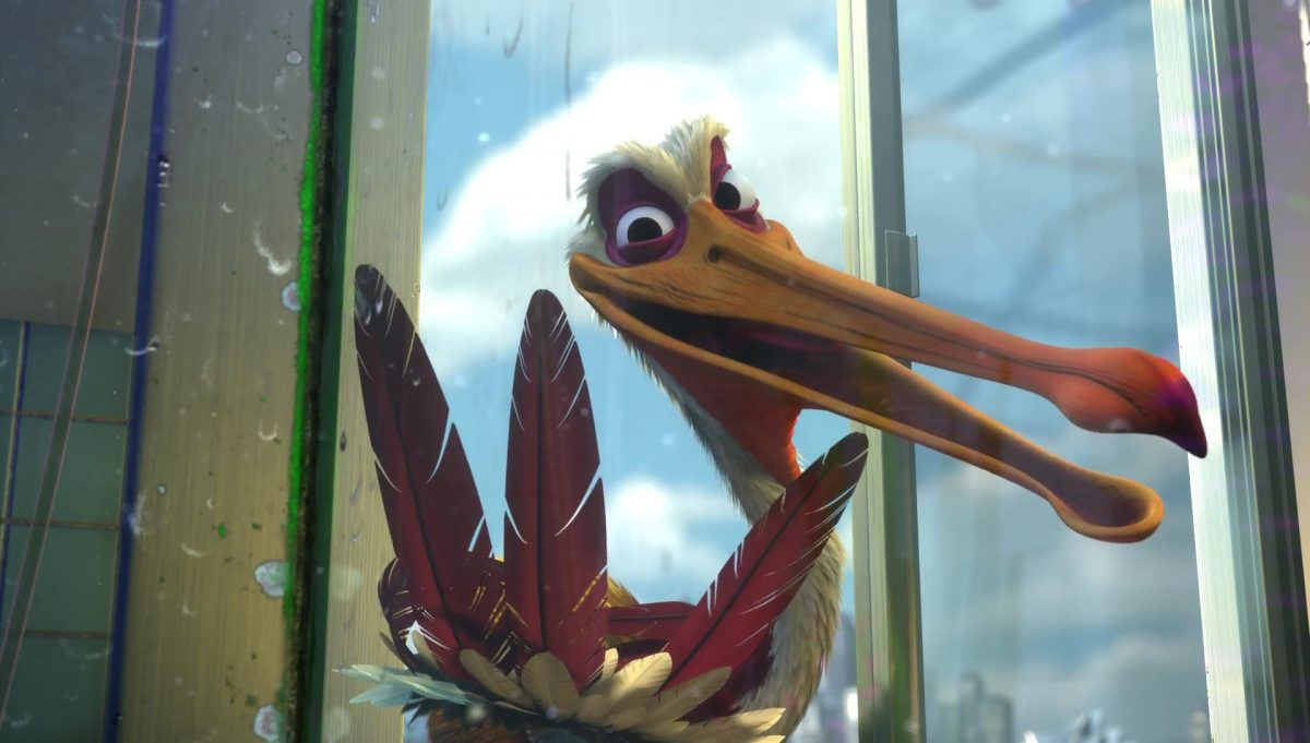 amiral nigel personnage character monde nemo finding dory disney pixar