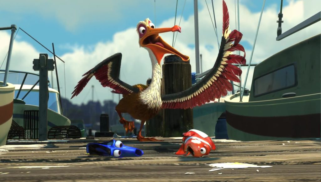 amiral nigel monde finding nemo disney pixar personnage character