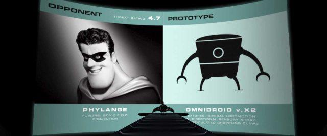 amygdaleman personnage character indestructibles incredibles disney pixar