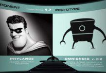 amygdaleman phylange pixar disney personnage character indestructibles incredibles