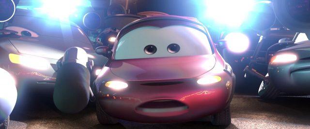 andrea personnage character cars disney pixar