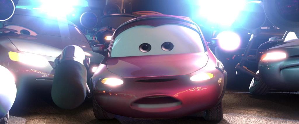 andrea personnage character pixar disney cars