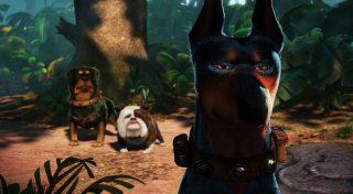 alpha beta gamma personnage character pixar disney là-haut up