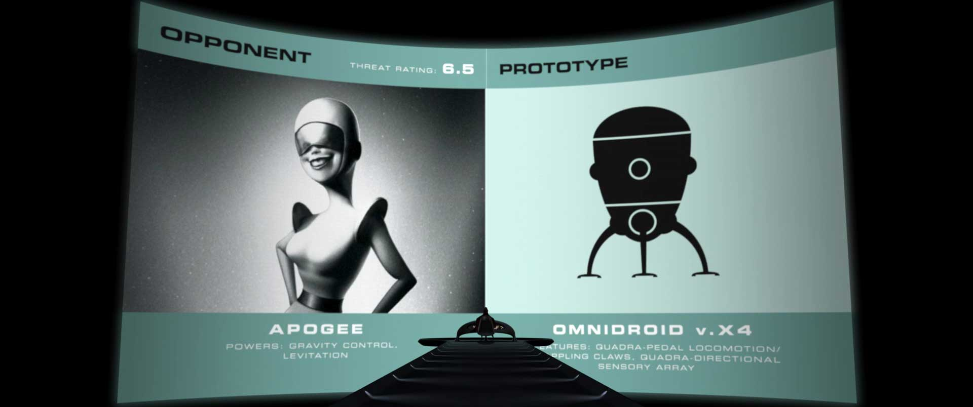 apogee pixar disney personnage character indestructibles incredibles