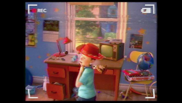 ardoise magique etch sketch personnage character disney pixar toy story