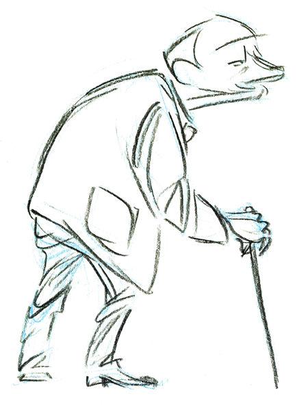 Pixar disney artwork concept art le joueur d'échecs geri's gamePixar disney artwork concept art le joueur d'échecs geri's game