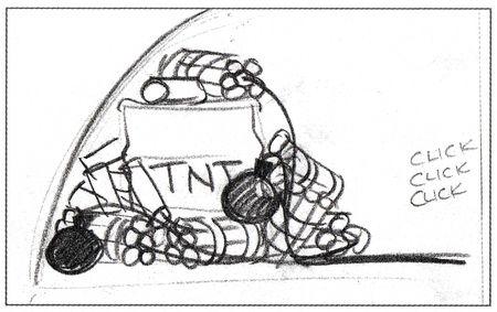 pixar disney artwork concept art knick knack