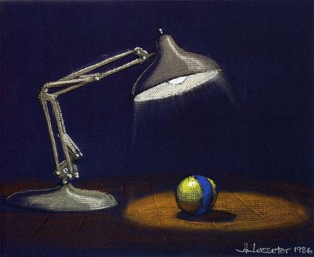 pixar disney concept art artwork luxo jr