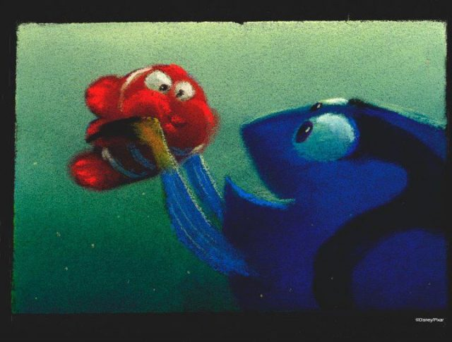 artwork monde nemo finding disney pixar