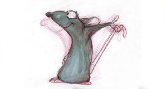 artwork ratatouille disney pixar