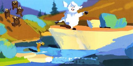 artwork boundin saute-mouton disney pixar