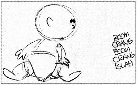 pixar disney concept art artwork tin toy