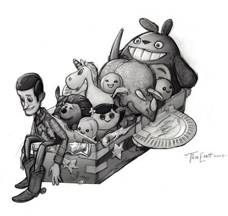 artwork toy story 3 disney pixar