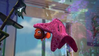 astrid peach monde finding nemo disney pixar personnage character