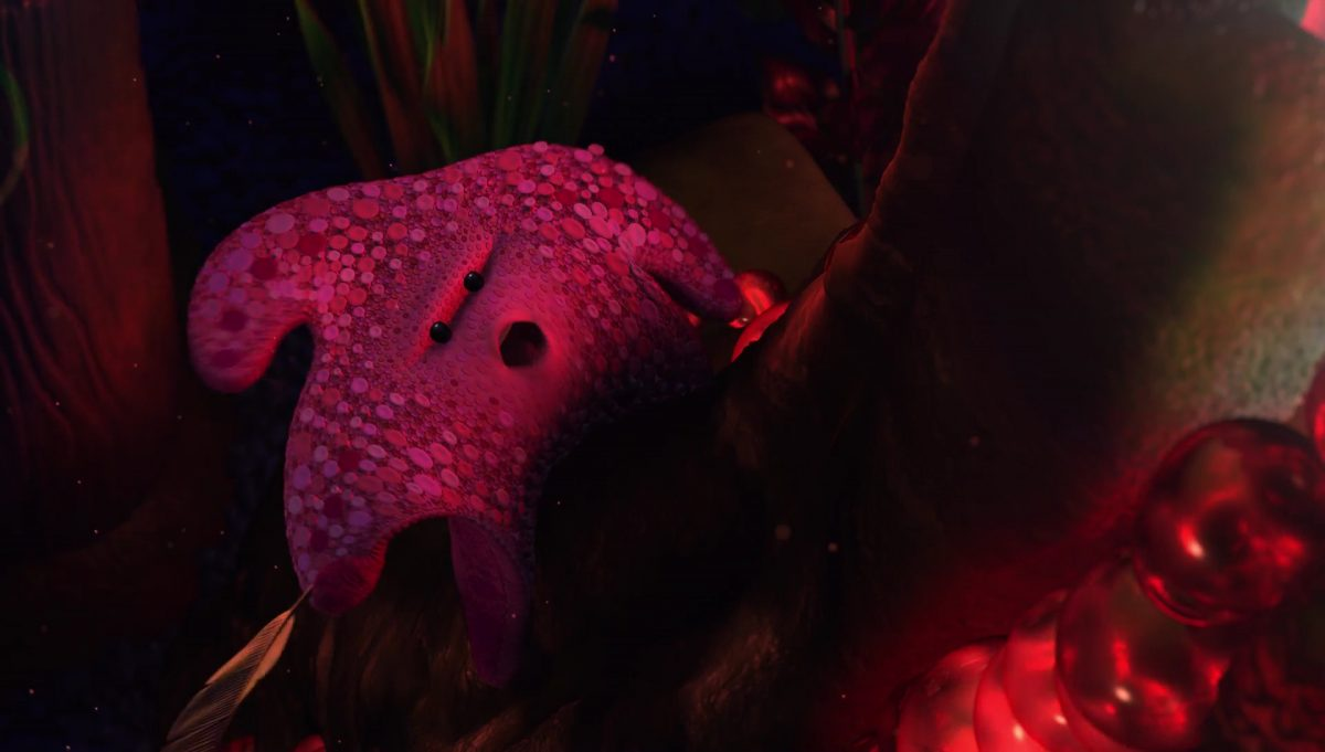 astrid peach personnage character monde nemo finding dory disney pixar