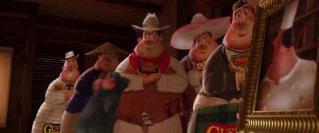 auguste gusteau personnage character ratatouille disney pixar