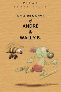 affiche poster aventures andre wally disney pixar