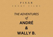 pixar disney affiche poster les aventures adventures andre wally b