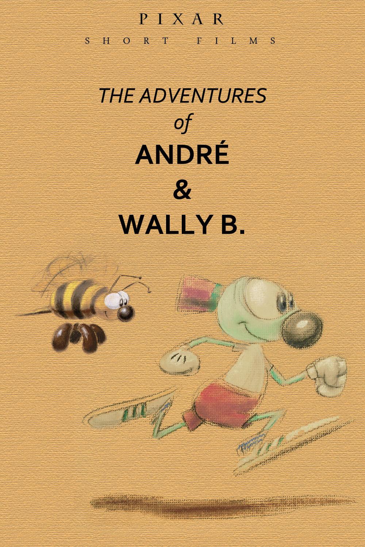 pixar disney affiche poster les aventures adventures andre wally b