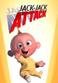 affiche poster baby sitting attack jack jack disney pixar