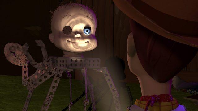 babyface personne character disney pixar toy story