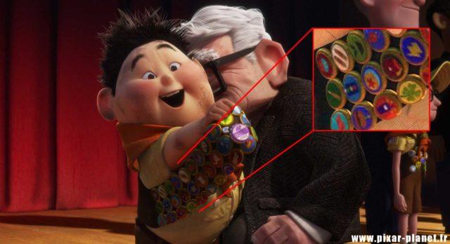 Là-haut Up Ballon Ball Luxo Jr Disney Pixar