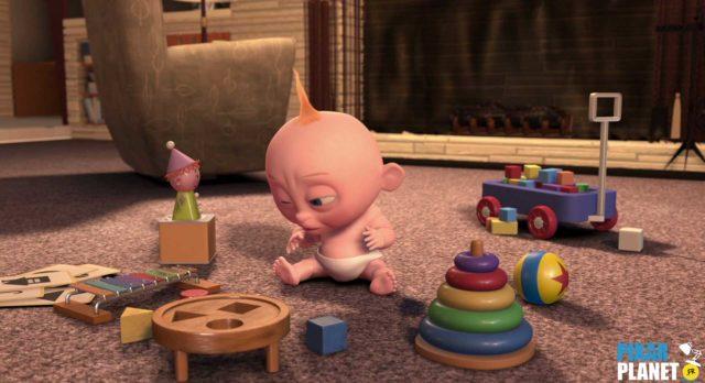 baby sitting jack jack Ballon Ball Luxo Jr Disney Pixar