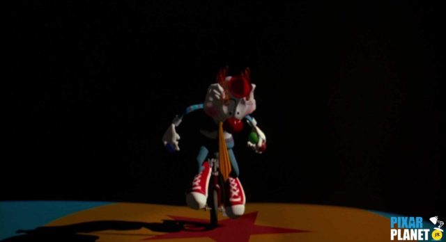 red dream Ballon Ball Luxo Jr Disney Pixar