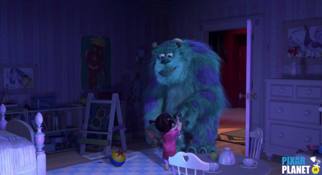 Monstres Cie monsters inc Ballon Ball Luxo Jr Disney Pixar