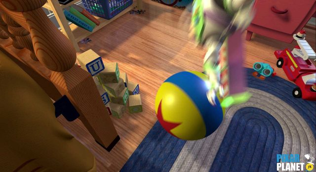 toy story Ballon Ball Luxo Jr Disney Pixar