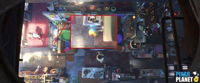 ballon ball luxo clin oeil easter egg toy story 4 disney pixar