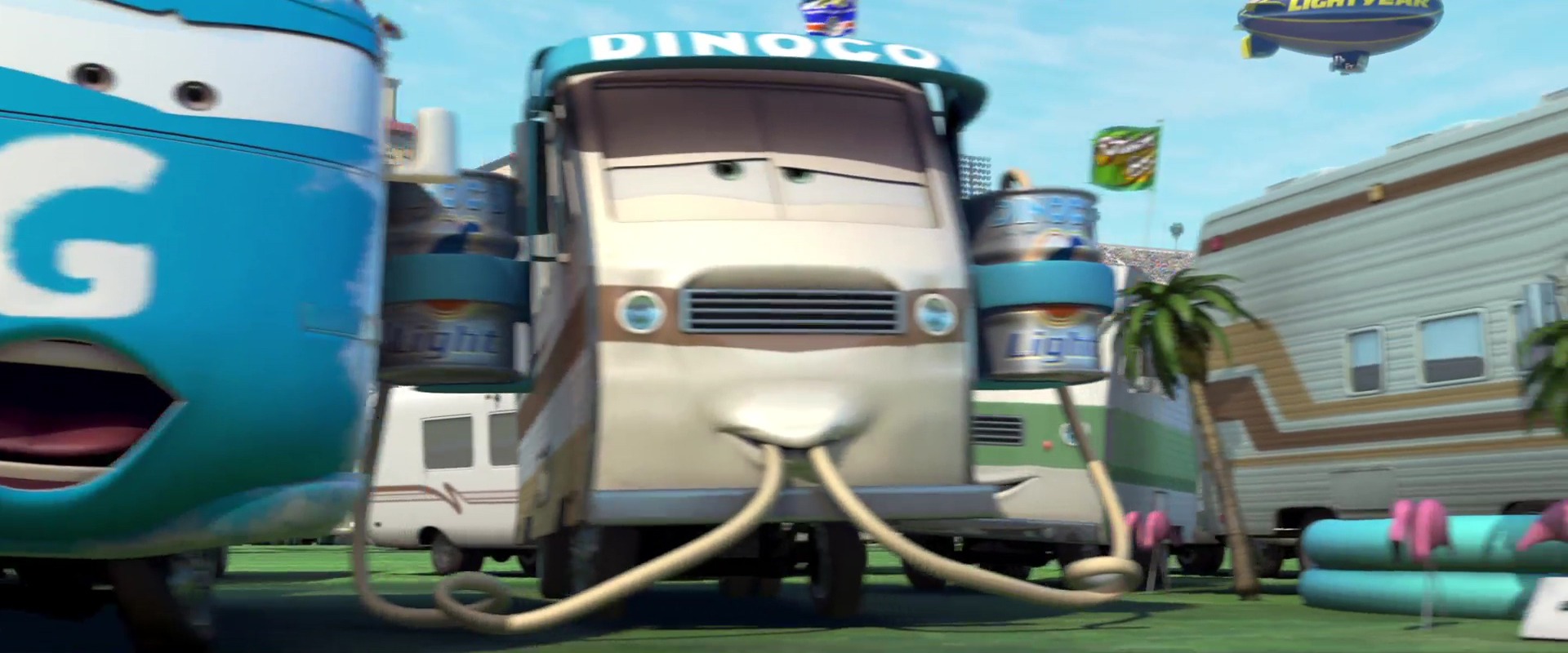 barry diesel personnage character pixar disney cars