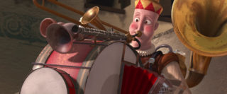 bass personnage character pixar disney homme orchestre one man band
