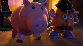 bayonne hamm pixar disney personnage character toy story 2